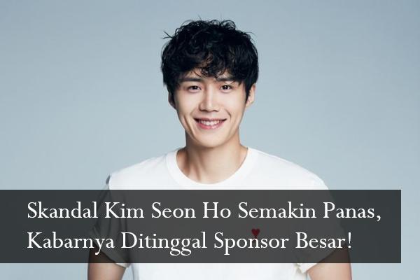 Skandal Kim Seon Ho Semakin Panas, Kabarnya Ditinggal Sponsor Besar!